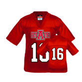 Youth Replica Red Football Jersey-#16