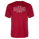 Performance Red Tee-A State