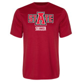 Syntrel Performance Red Tee-Soccer
