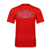 Syntrel Performance Red Tee-A State