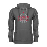 Adidas Climawarm Charcoal Team Issue Hoodie-Red Wolves Football Adidas