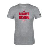 Adidas Sport Grey Logo T Shirt-Always Rising Adidas