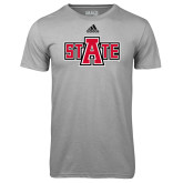 Adidas Climalite Sport Grey Ultimate Performance Tee-A State