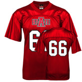 Replica Red Adult Football Jersey-#66