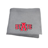 Grey Sweatshirt Blanket-A State