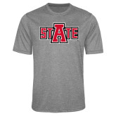 Performance Grey Heather Contender Tee-A State