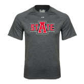 Under Armour Carbon Heather Tech Tee-A State
