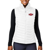 Columbia Lake 22 Ladies White Vest-A State