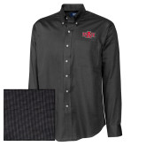 Cutter & Buck Black Nailshead Long Sleeve Shirt-A State