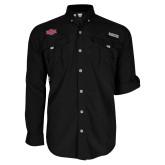 Columbia Bahama II Black Long Sleeve Shirt-A State
