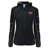 Columbia Ladies Sweet As Softshell Black Jacket-A State