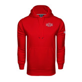 Under Armour Red Performance Sweats Team Hood-A State