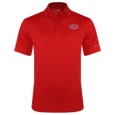 Columbia Red Omni Wick Round One Polo-A State