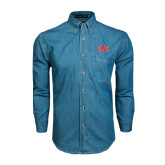 Denim Shirt Long Sleeve-A State