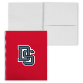 College Spiral Notebook w/Clear Coil-A State