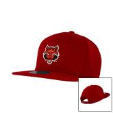 New Era Red Diamond Era 9Fifty Snapback Hat-Red Wolf Head