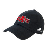 Adidas Black Slouch Unstructured Low Profile Hat-A State
