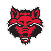 Small Magnet-Red Wolf Head, 6 in H