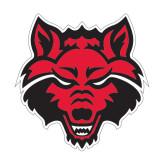 Medium Magnet-Red Wolf Head, 8 in H