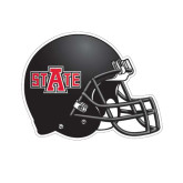 Football Helmet Magnet-A State, 11 1/2 in W X 8 3/4 in H