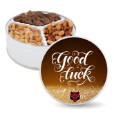 Deluxe Mix Good Luck Tin-Red Wolf Head