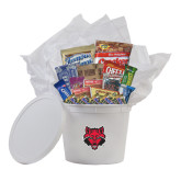 College Care Package Survival Kit-Red Wolf Head