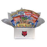 College Care Package Snackdown Deluxe-Red Wolf Head