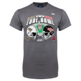 Cure Bowl Charcoal T-Shirt-