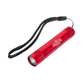 Pluto Red Slim Flashlight-A State Engraved