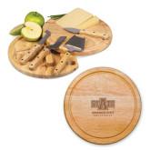 10.2 Inch Circo Cheese Board Set-University Mark Engraved