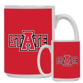 Full Color White Mug 15oz-A State