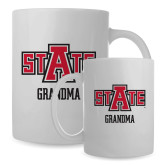 Full Color White Mug 15oz-Grandma