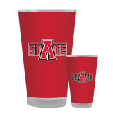 Full Color Glass 17oz-A State