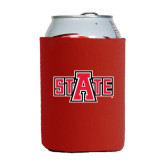 Collapsible Red Can Holder-A State