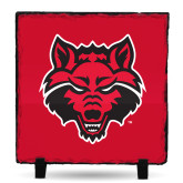 Photo Slate-Red Wolf Head