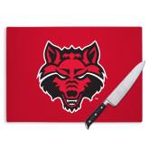 Cutting Board-Red Wolf Head