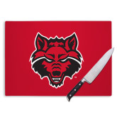 Cutting Board-Red Wolf Head