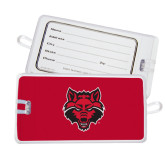Luggage Tag-Red Wolf Head