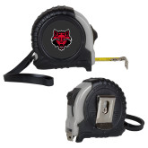 Journeyman Locking 10 Ft. Silver Tape Measure-Red Wolf Head