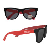Red Sunglasses-Red Wolf Head w/A State