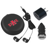 3 in 1 Black Audio Travel Kit-A State