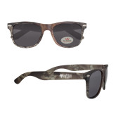 True Timber Camo Sunglasses-Red Wolf Head w/A State