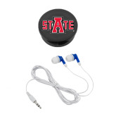 Ear Buds in Black Case-A State