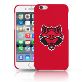 iPhone 6 Plus Phone Case-Red Wolf Head