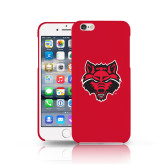 iPhone 6 Phone Case-Red Wolf Head