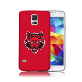 Galaxy S5 Phone Case-Red Wolf Head