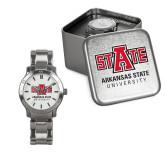 Ladies Stainless Steel Fashion Watch-University Mark