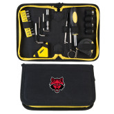 Compact 23 Piece Tool Set-Red Wolf Head