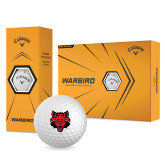 Callaway Warbird Golf Balls 12/pkg-Red Wolf Head