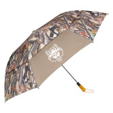 58 Inch Hunt Valley Camo Umbrella-Red Wolf Head